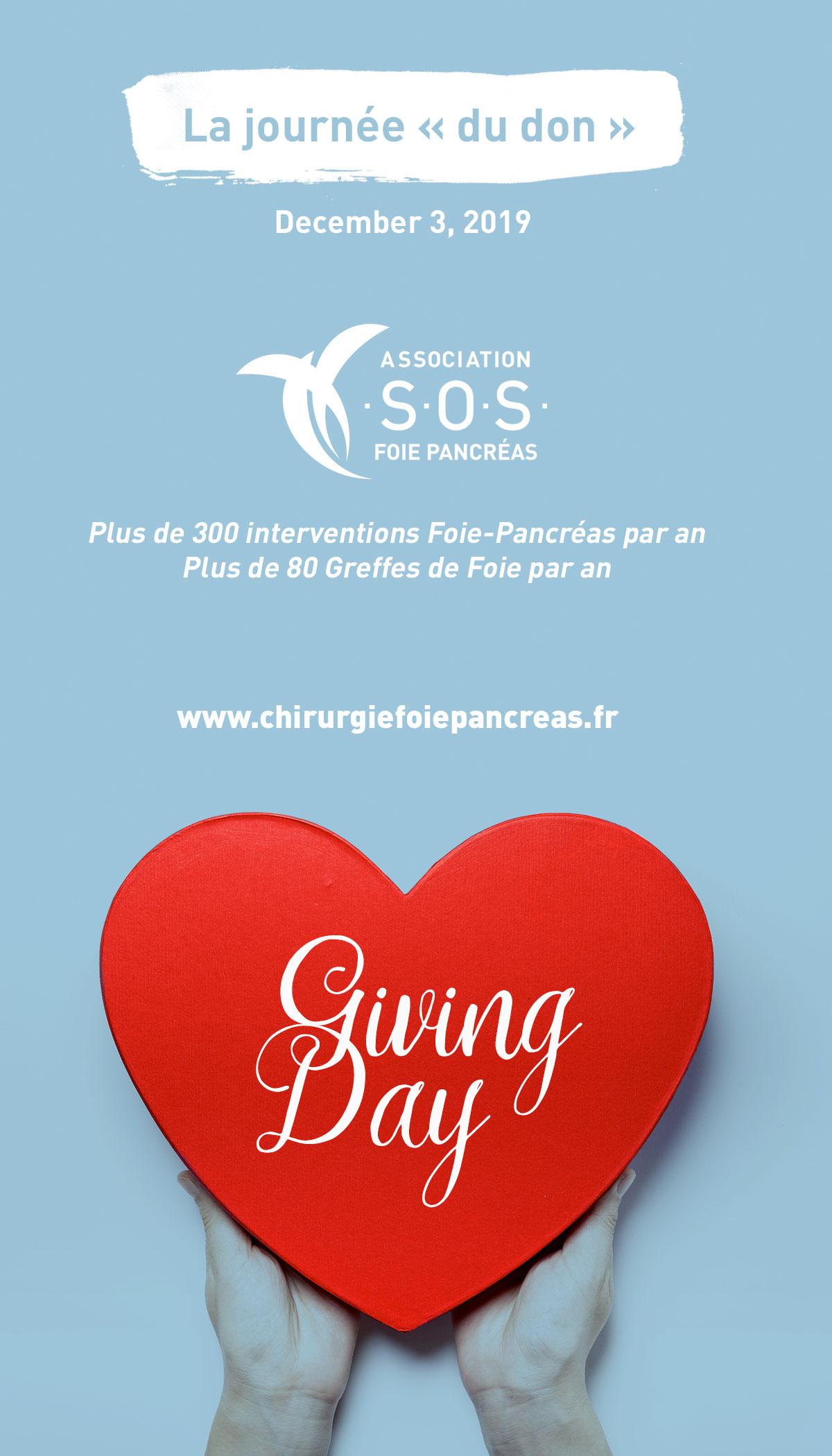 """Giving Day - La journée """"du don"""""""